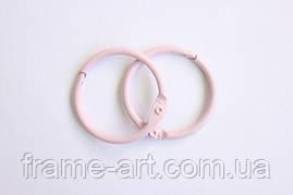 Кольца для альбомов 2 шт розовые 30мм SCB2504430