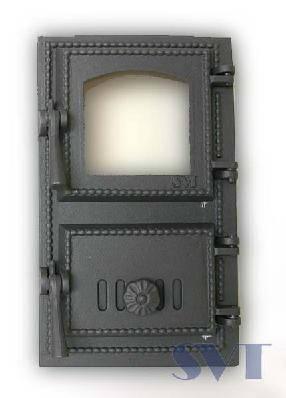 Топочный люк для печи каменки SVT 431, фото 2