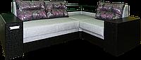 Угловой диван Триумф с полкой