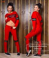 Спортивный костюм Rock Star / красный / черный / белый