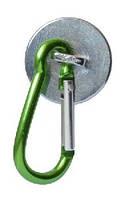 7221A магнит с карабином (зеленый)
