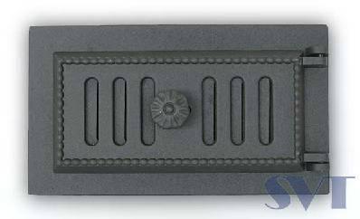 Люк для золы негерметичный зольная дверца SVT 432, фото 2