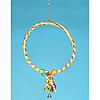 Качеля - кольцо для попугая