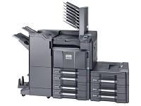 Лазерный, полноцветный сетевой принтер Kyocera FS-C8650DN формата А3. Широкоформатная печать. Дуплекс.