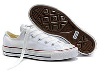 Кеды унисекс Converse All Star Low белого цвета