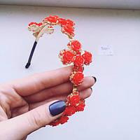 Корона обруч D&G Red Roses , диадема