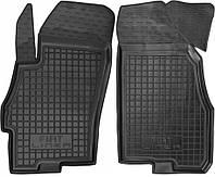 Полиуретановые передние коврики для Fiat Linea 2007- (AVTO-GUMM)