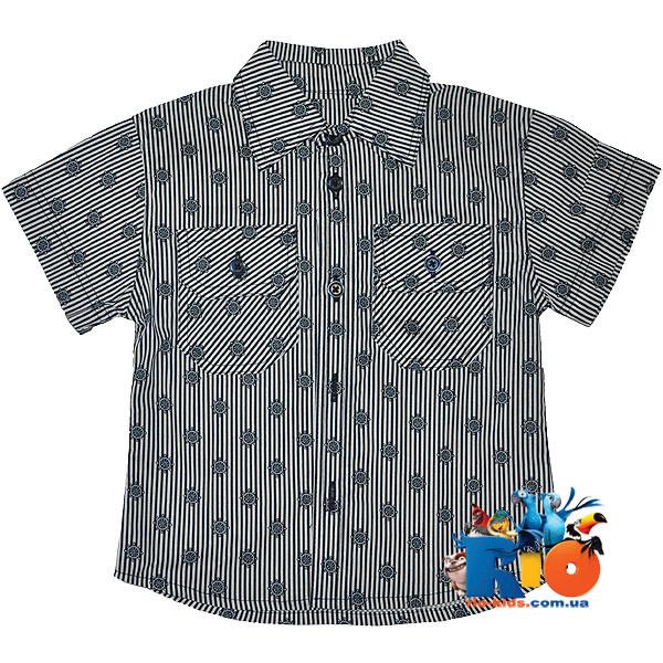 """Детская рубашка """"Captain"""" , для мальчиков (рост 92-98-104-110-116 см)"""