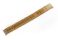 "Браслет ""гумка"" Nobrand для наручних годинників, золотий, 18 мм"