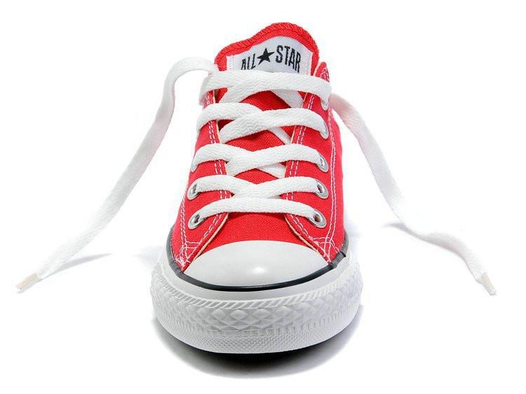 ... фото Кеды Converse All Star low женские красные (конверсы низкие). кеды  converse c5a2d17ba3c1a
