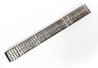 """Браслет """"гумка"""" Nobrand для наручних годинників, срібний, 18 мм"""