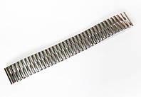 """Браслет """"резинка"""" Nobrand для наручных часов, серебряный, 18 мм"""