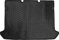 Коврик в багажник Fiat Doblo I 2001-2009 5 мест (короткая база с сеткой) (AVTO-GUMM)