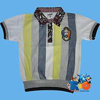 "Детская футболка - поло ""Takeshy"" , из трикотажа , для мальчика (рост 140-152-164-176 см)"