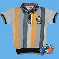 """Детская футболка - поло """"Takeshy"""" , из трикотажа , для мальчиков (рост 140-152-164-176 см)"""