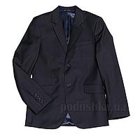 Подростковый школьный пиджак Юность 206 синий 38 (Р-152, ОГ-76, ОТ-69)