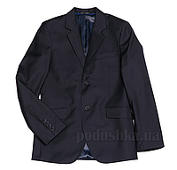 Подростковый школьный пиджак Юность 206 синий 42 (Р-158, ОГ-76, ОТ-69)