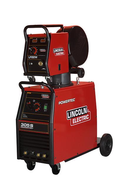 Сварочный источник Powertec 305S/Подающий механизм LF-22М LINCOLN ELECTRIC