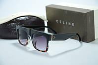 Солнцезащитные очки Celine коричневые, фото 1