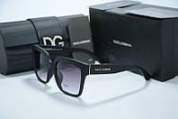 Солнцезащитные очки Dolce & Gabbana черные, фото 1