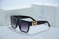 Солнцезащитные очки Versace черные, фото 1