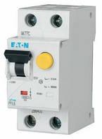 Дифференциальный автоматический выключатель PFL6-10/1N/C/003 2Р 10А 30мА тип С Moeller(Eaton) 000286465