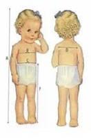 Таблица размеров детской одежды и обуви