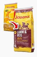 Корм для собак Josera Lamb & Rice 15 кг