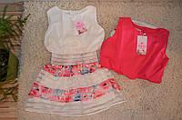 Нарядное летнее платье для девочек  8-16 лет