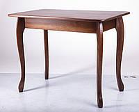 Стол деревянный кухонный Смарт темный орех, фото 1