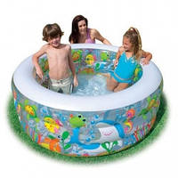 Детский надувной бассейн Intex - Аквариум