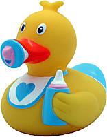 Игрушка для купания LiLaLu Funny Ducks Пупс мальчик утка