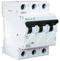 Автоматический выключатель PL6-C63/3 3Р 63А тип С 6кА Moeller(Eaton) 000286607