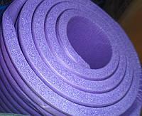 Йога мат коврик для йоги 183х0,6х0,1см коврик для фитнеса  коврик для йоги 10мм коврик для фитнеса