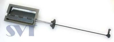 Задвижка дымохода SVT 206 (поворотная), фото 2