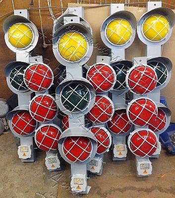 У270 - светофор для троллейных линий