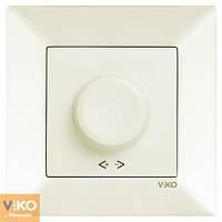Светорегулятор 600W RL крем VIKO Meridian (90970220)