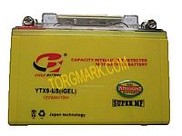 Аккумулятор 9-ампер (MF), гелиевый (сухозаряженный)