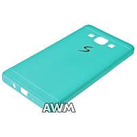 Накладка силиконовая Creative Samsung A5 (голубой)