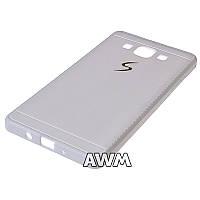 Чехол накладка CREATIVE для Samsung Galaxy A5 (A500H) белый