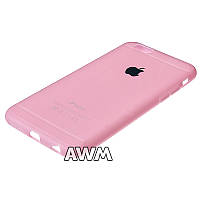 Чехол накладка CREATIVE для Apple iPhone 6 / iPhone 6S розовый