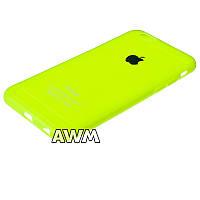 Чехол накладка CREATIVE для Apple iPhone 6 / iPhone 6S зеленый