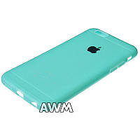 Чехол накладка CREATIVE для Apple iPhone 6 / iPhone 6S голубой