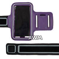 Чехол спортивный Belkin на руку для Apple iPhone 5 / 5S фиолетовый