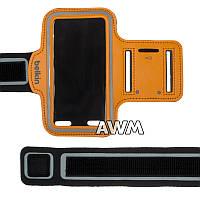 Чехол спортивный Belkin на руку для Apple iPhone 5 / 5S оранжевый