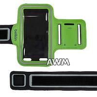 Чехол спортивный Belkin на руку для Apple iPhone 5 / 5S зеленый