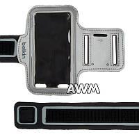 Чехол спортивный Belkin на руку для Apple iPhone 5 / 5S серый