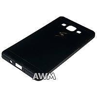 Чехол накладка CREATIVE для Samsung Galaxy A5 (A500H) черный