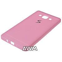 Чехол накладка CREATIVE для Samsung Galaxy A5 (A500H) розовый