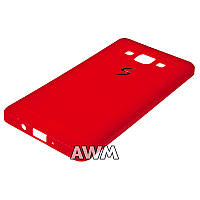 Чехол накладка CREATIVE для Samsung Galaxy A5 (A500H) красный
